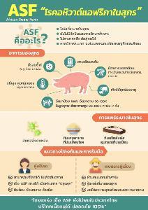 ก.เกษตรฯ บูรณาทุกภาคส่วน ป้องอุตฯผลิตสุกรไทยปลอดจากโรคอหิวาต์แอฟริกา