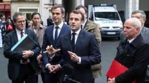 ผู้นำฝรั่งเศสวอนประชาชนอย่าแตกตื่น หลังรัฐมนตรีติดเชื้อไวรัส