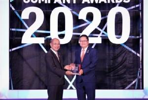 ปตท. รับรางวัล THAILAND TOP COMPANY AWARDS 2020 ประเภทอุตสาหกรรมพลังงา