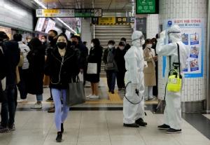 'เกาหลีใต้' พบผู้ติดเชื้อโควิด-19 เพิ่ม 114 คน ยอดรวมทั่วประเทศพุ่ง 7,869 คน