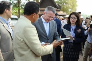 สหรัฐฯ เดินหน้าหนุนโครงการอนุรักษ์มรดกวัฒนธรรมไทย บูรณะวัดไชยวัฒนาราม