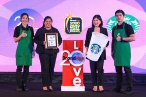 สตาร์บัคส์ คว้ารางวัล Thailand's Most Admired Brand & Why We Buy 6 ปีซ้อน