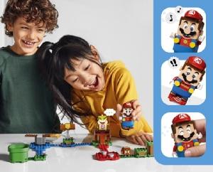"""ตัวต่อ LEGO ออกชุดพิเศษ """"Super Mario"""""""