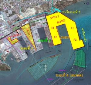 แผนผังโครงการพัฒนาท่าเรือแหลมฉบังเฟส 3