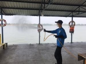 นครพนมยังไม่พบผู้ติดเชื้อโควิด-19 เร่งทำความสะอาดท่าเทียบเรือไทย-ลาว