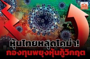 หุ้นไทยหลุดโคม่า! กองทุนพยุงหุ้นกู้วิกฤต