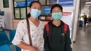 """สัมผัสแรกของกอดแม่ """"น้องนก"""" แรงงานสาวไทยดีใจพ้นเวลากักตัว ผลตรวจปกติ"""
