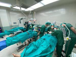 โรงพยาบาลอินทร์บุรี จัดกิจกรรมออกเยี่ยมหน่วยแพทย์ตกแต่งใบหน้าประจำปีเพื่อช่วยเพิ่มวิชาความรู้ให้กับแพทย์ประจำชุมชน