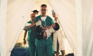 ทีมแพทย์ชาวอิตาลีที่เคยไปช่วยเหลือเสฉวนในปี 2551