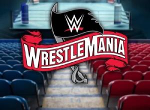 """ครั้งแรกในประวัติศาสตร์ """"WWE"""" จัดศึกใหญ่ """"เรสเซิลมาเนีย"""" แบบปิดสนามไร้คนดู"""