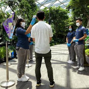 """สิงคโปร์ส่งแคมเปญ """"SG CLEAN"""" สู้โควิด-19 ลดเสี่ยงแพร่เชื้อในปชช.-นทท."""