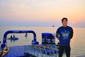 """เริ่มแล้ว """"ONE MAN & THE SEA"""" หนึ่งคนว่าย หลายคนช่วย """"กรมทะเลฯ"""" จับมือ """"โตโน่"""" พร้อมเดินหน้าเพื่ออนุรักษ์สัตว์ทะเลหายากและปกป้องทะเลไทย"""
