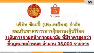 """""""สคบ."""" ประกาศ พบร้านค้าออนไลน์ขาย หน้ากากอนามัย-เจลแอลกอฮอล์ เกินราคา สั่งระงับกว่า 35,000 รายการ"""