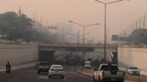 เชียงใหม่ฝุ่นควันทึบเหม็นไหม้ทั้งเมือง ค่า PM 2.5 ทะลุหลัก 500 มลพิษครองแชมป์โลกเหนียวแน่น