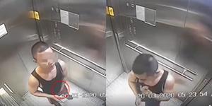 เร่งล่าตัวชายควักเป้า-ป้ายน้ำลายทั่วลิฟต์ BTS ชี้ หากพบติดเชื้อโควิด-19 โทษหนักถึงจำคุก