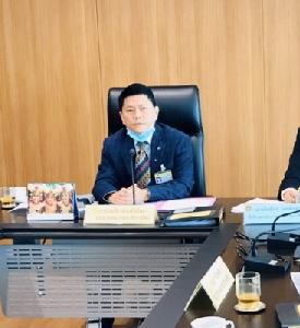 ดร.บุญลือ ประเสริฐ โสภา ประธานคณะกรรมาธิการกีฬา (ป.กมธ.กีฬา) สภาผู้แทนราษฎร