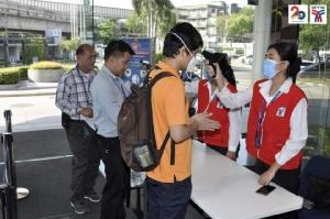 กรมราง สั่งเข้มวัดไข้ผู้โดยสารก่อนขึ้นรถไฟฟ้า และต้องใส่หน้ากากอนามัยทุกคน