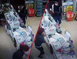 ผบ.ตร.เตือน! 2 โจรควงปืนชิงทรัพย์ร้านเซเว่นฯ เมืองตราด รีบมอบตัว-อย่าคิดสู้