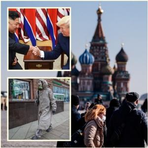 "In Clip : หมีขาวใจดี! ""รัสเซีย"" ส่งชุดตรวจโคโรนาให้เกาหลีเหนือ-อิหร่าน-เวเนฯ ""คิม จองอึน"" รับ จม.จากทรัมป์"