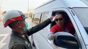 ปิดสะพานมิตรภาพไทย-ลาว ห้ามคนเข้าออกเว้นรถบรรทุกสินค้า