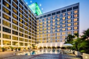 โรงแรมบางกอกพาเลส สถานที่รองรับผู้ป่วยโควิด-19 (ภาพจากโรงแรมบางกอกพาเลส)