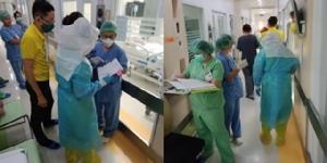 แพทย์เผยเมื่อของป้องกันตัวขาดมือ ต้องใช้ถุงพลาสติกธรรมดาหุ้มเท้าแทนถุงกันน้ำ