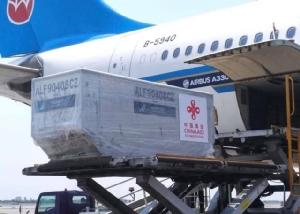 ส่งถึงกรุงเทพแล้ว เวชภัณฑ์ รัฐบาลจีนบริจาคให้ไทย สู้โควิด-19