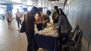 รถไฟฟ้า MRT เปิดพื้นที่ 15 สถานี ให้ขายหน้ากากผ้าราคาถูก