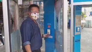 ตู้โทรศัพท์เก่าช่วยได้! ทม.เพชรบูรณ์จับมือ TOT-เอกชนทำตู้ฆ่าโควิดติด 3 จุด