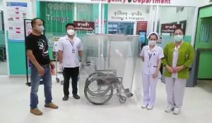 ร่วมด้วยช่วยกัน..เถ้าแก่ร้านของเก่าลำปางเซฟหมอ-พยาบาลสู้ภัยโควิด ประดิษฐ์รถเข็น-เตียงเปลกันเชื้อแพร่