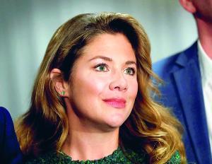 โซฟี เกรกัวร์ ภรรยานายกฯ จัสติน ทรูโด แห่งแคนาดา