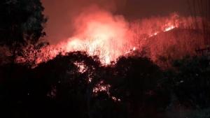 จนท.ระดมดับไฟไหม้ป่าดอยสุเทพไม่ได้ยั้งหลังยังลามหนักจ่อประชิดเมือง-ค่าฝุ่น PM 2.5 พุ่ง