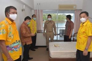 พังงาเตรียมพร้อมรับมือโควิด-19 เตรียมปรับปรุงโรงแรมของ อบจ.เป็นโรงพยาบาลสนาม