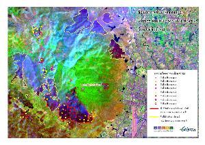 เผยภาพดาวเทียมดอยสุเทพ – ดอยปุยเสียหายจากไฟป่า 23,000 ไร่