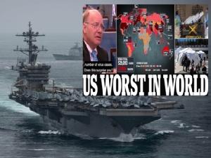 """In Pics&Clip : ผู้เชี่ยวชาญอังกฤษเชื่อยอดเสียชีวิต """"โควิด-19"""" ปีนี้อาจถึง 1.8 ล้านถึงแม้ใช้มาตรการแข็งกร้าว """"USS ธีโอดอร์ โรสเวลต์"""" มีลูกเรือติดเชื้อ"""