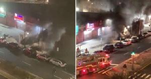 เกิดเหตุไฟไหม้ที่สถานีรถไฟใต้ดินในนิวยอร์ก เสียชีวิต 1 บาดเจ็บหลายราย