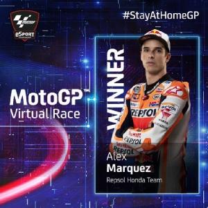 อเล็กซ์ มาร์เกซ แข่งออนไลน์ MotoGP Virtual Race