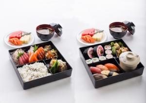 ชุดอาหารญี่ปุ่นแบบเดลิเวอรี่จากโรงแรมแคนทารี กบินทร์บุรี