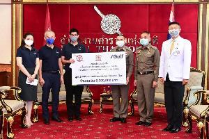 กัลฟ์ มอบเงินสนับสนุน 5 ล้านบาท เสริมสร้างความพร้อมให้กับโรงพยาบาลตำรวจ รับมือผู้ป่วยโควิด-19