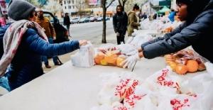 นิวยอร์กกำลังเผชิญวิกฤตด้านอาหาร จากการระบาดของโควิด-19