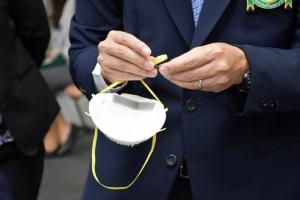 รพ.รามาฯ ติดตั้งหม้อ UV-C-หม้ออบร้อน ฆ่าเชื้อหน้ากาก N95 นำกลับมาใช้ซ้ำ