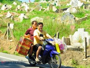 """""""เทศกาลเช็งเม้ง"""" ที่เบตงสุดเงียบเหงา ชาวไทยเชื้อสายจีนยกเลิกเดินทางไปยังสุสาน"""