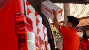 ไปรษณีย์ไทย ย้ำความมั่นใจส่งต่อหน้ากากอนามัยถึงโรงพยาบาลทุกชิ้น