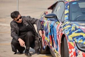 BMW Unbound World of Art Series : Fusion Camouflage อาร์ตคาร์ฝีมือ หมู นนทวัฒน์ เจริญชาศรี