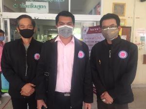 คนบันเทิง หนุ่มจีสตาร์-นัย สุขสกุล แจกหน้ากาก เจล แอลกอฮอล์ ชุด PPE ขนมของว่าง  เป็นกำลังใจให้เหล่าแพทย์ พยาบาล ตาม รพ. ต่างๆ