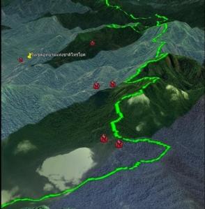 ผอ.สบอ.3 ลุยจับและลดไฟป่าพื้นที่ จ.กาญจนบุรี พบจุด Hotspot ลดลงต่อเนื่อง