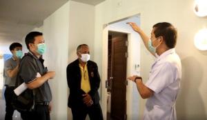 สปสช.เข้าตรวจสอบ รร.แกรนด์เบลล่า ก่อนเปิดเป็น รพ.สนามเอกชนแห่งแรกในชลบุรี
