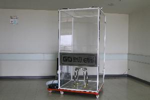 ตู้ Swab Test พร้อมระบบฆ่าเชื้อ