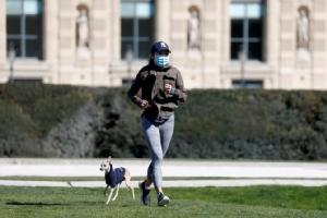 ฝรั่งเศสชาติที่ 4 โลก ยอดตายโควิด-19 ทะลุหมื่น ปารีสยกระดับห้ามวิ่งออกกำลังกาย