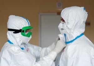 รัสเซียใจป้ำ! จ่ายโบนัส 3.5 หมื่นต่อเดือน เหล่าแพทย์, พยาบาลแถวหน้าสู้วิกฤตโควิด-19